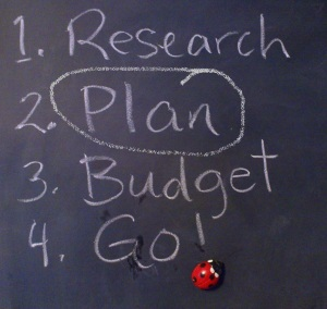 Social Media Chalkboard Plan